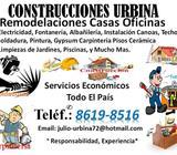 CONSTRUCCIÓN Y REMODELACIONES DE CASAS RESIDENCIALES