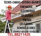 Remodelaciones,techos,canoas Y Goteras