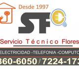 Electricista- técnico en Telefonía y Computo, del TEC