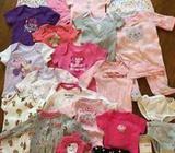 50 piezas de ropa para niña (6 meses - 1año) por 10,000 colones!
