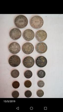 Monedas de costa rica antiguas
