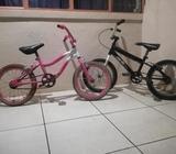 Bicicletas 16 de Niño(a) Parejita