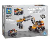 1x1500.Lego 3 en 1, 61pcs,lindos