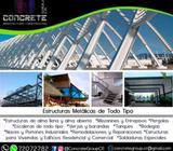 Estructuras Metálicas de TODO tipo (Convencionales y Especiales)
