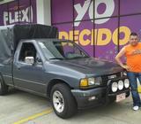 Ofrezco mi camioneta para servicios d...e carga y transporte