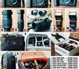 VENTA TOTAL DE EQUIPO FOTOGRÁFICO (3 Cámaras Nikon, 2 bolsos, y Accesorios)