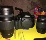 Canon Eos T6 con Dos Lentes