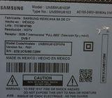 TV 55' para repuestos Samsung