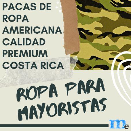 Pacas de ropa americana premium Costa Rica