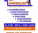 Servicios de Mantenimiento Residencial y Comercial