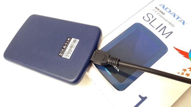 Disco Duro Externo ADATA HV300 1 TB USB 3.1
