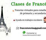 Tutorías de francés para primaria y secundaria