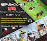 Reparación equipo construcción