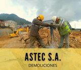 EXPLOSIVOS ,  DEMOLICIONES Y MOVIMIENTOS DE TIERRA ASTEC EN COSTA RICA