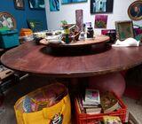 Mesa redonda con lady susan