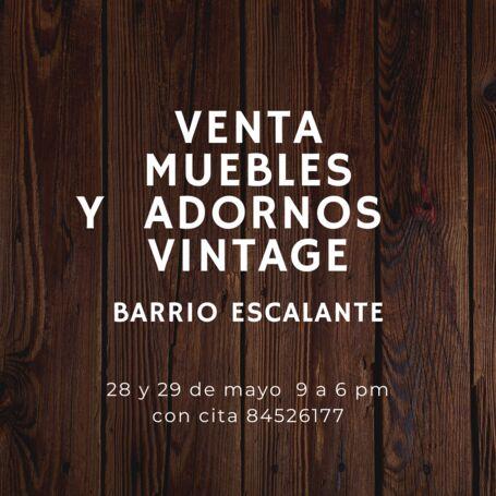 Venta Muebles Vintage dede 1940