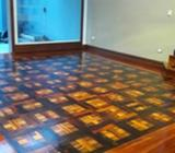 lijado pisos de madera equipo 0 polvo