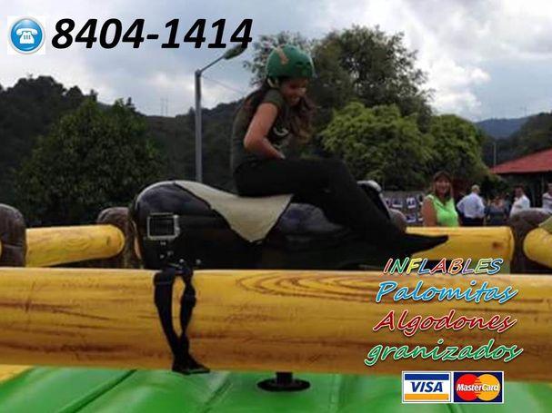 Toro mecanico Inflable Costa Rica