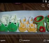 Zapatitos de Bebé en Crochet