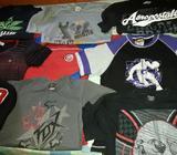 Vendo 9 Camisetas de Hombre Talla M Y L