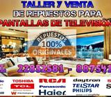 Taller y venta de repuestos para pantallas de Televisión