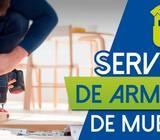 Servicio profesional de armado y ensamblado de muebles a domicilio