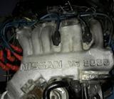 Motor Nissan V6 3000c Gasolina Inyectado