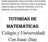 clases pariculares de matemáticas, abuen precio