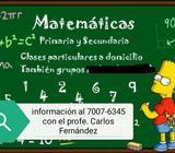 Clases de Matemáticas
