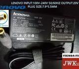 Cargador Laptop Lenovo Original 20v 4.5a Plug 7.9*5.5mm Jwk